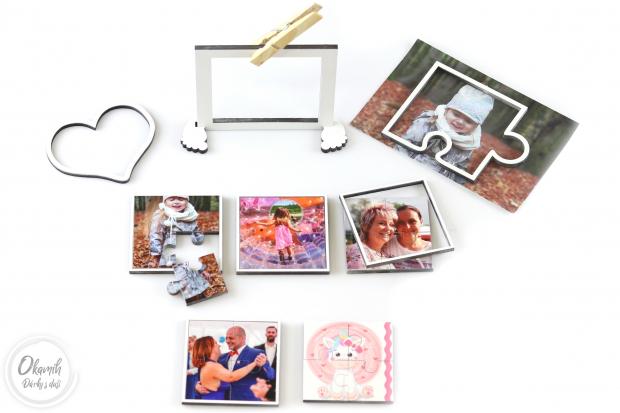 Dáreček k objednávce nad 500 Kč Mini puzzle s Vaší fotkou