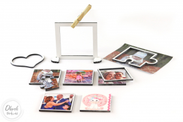 Dáreček k objednávce nad 500 Kč Dřevěné mini puzzle s Vaší fotkou