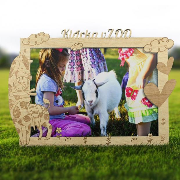 Rámeček jako památka na návštěvu ZOO Dětský fotorámeček jako památka na návštěvu ZOO