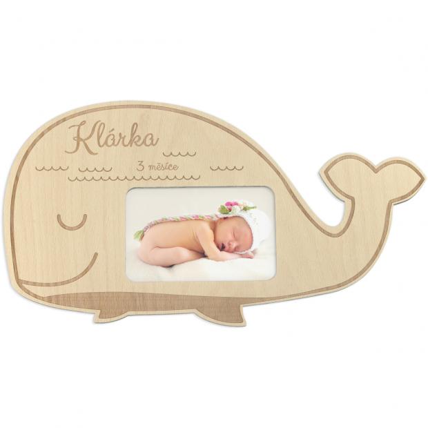 Velrybí rámeček pro malého plaváčka Velrybí rámeček pro malého plaváčka