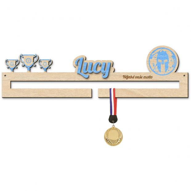 Věšák na medaile pro účastníky Gladiator Race Věšák na medaile Gladiator Race - se jménem, střední