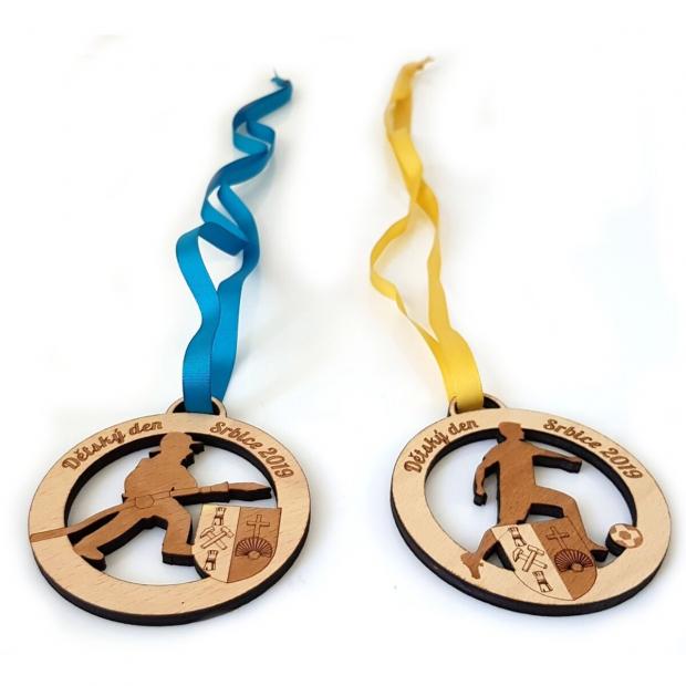 Medaile pro různé sporty s Vašimi údaji Medaile