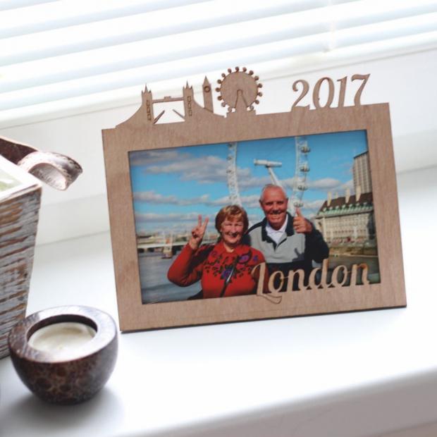 Rámeček k dovolené s vlastním motivem - Londýn Fotorámeček Londýn