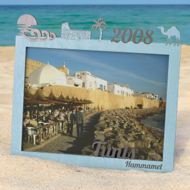 Rámeček na památku z dovolené - Tunis Fotorámeček Tunis
