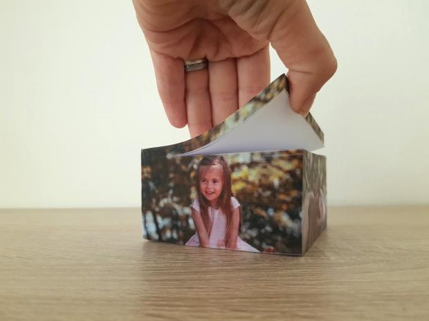Potisk na poznámkový bloček - fotka Bloček s potiskem Vaší fotografie